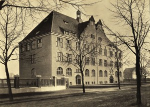 Altes Gebäude des Gymnasiums an der Bochumer Straße
