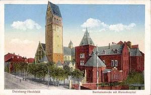 Bonifatiuskirche mit Marienhospital in ......