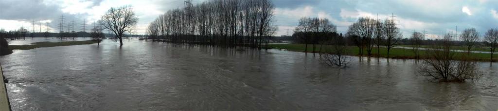 Hochwasser der Lippe
