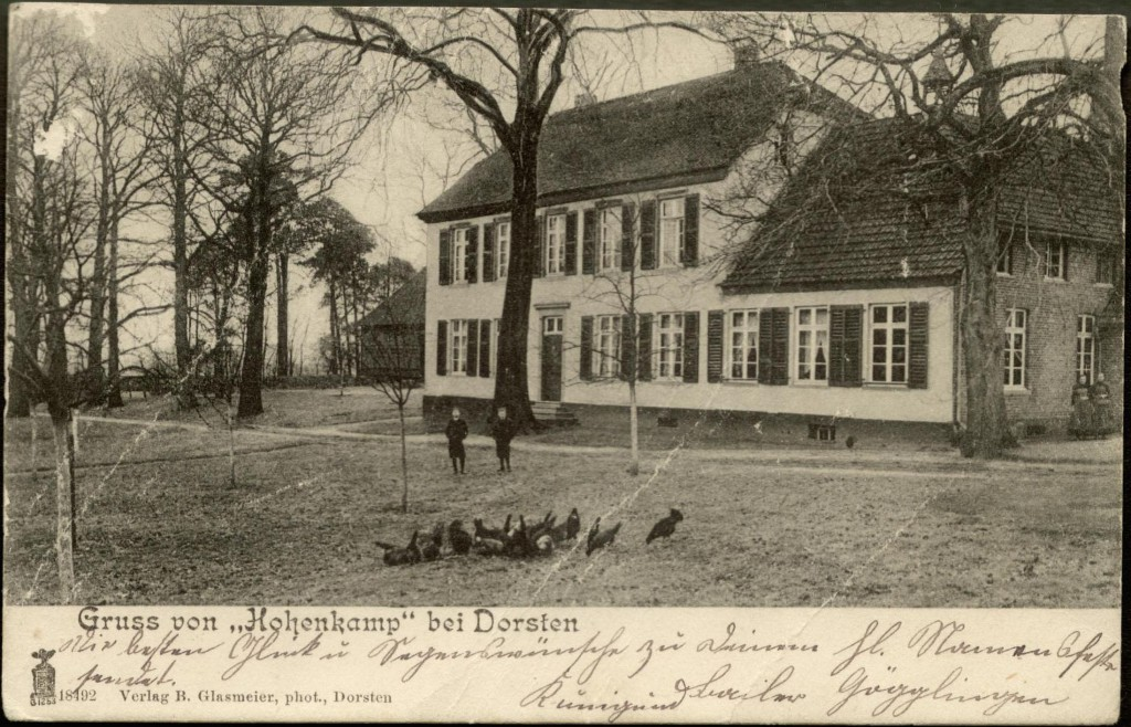 Gutshaus 1909