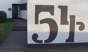 Hausnummer Am Gecksbach in Wulfen