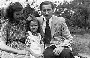 Vater, Mutter und Hedwig im Emmelkamp