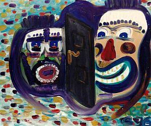 Hedwih Herrath Beckmann widmete sich der Malerei