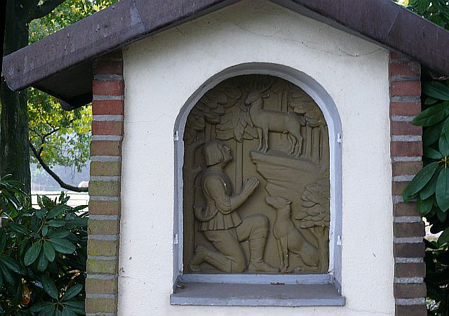 Hubertus-Bildstock an der Hagenbecker Straße; Foto: Maria Nienhaus