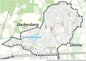 Abgrenzungsgebiet Wulfen-Barkenberg