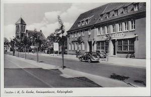 Kolpinghaus am Südwall neben der Sparkasse (Postkarte)