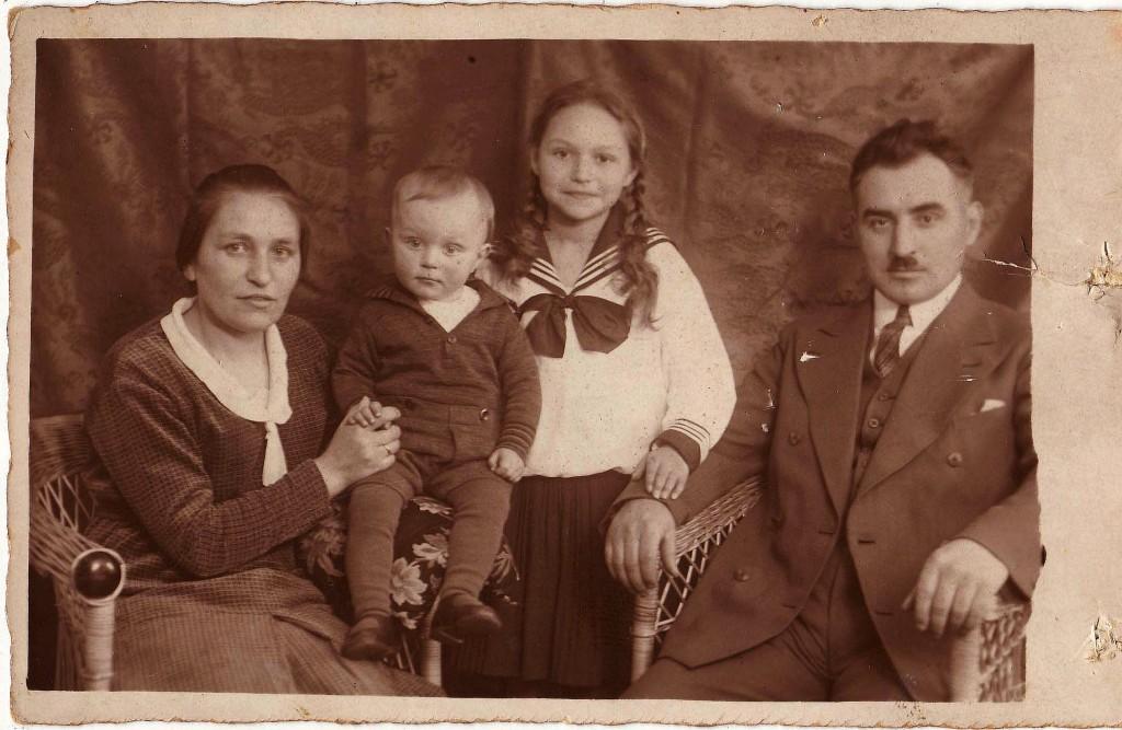 Familie Kramm 1932