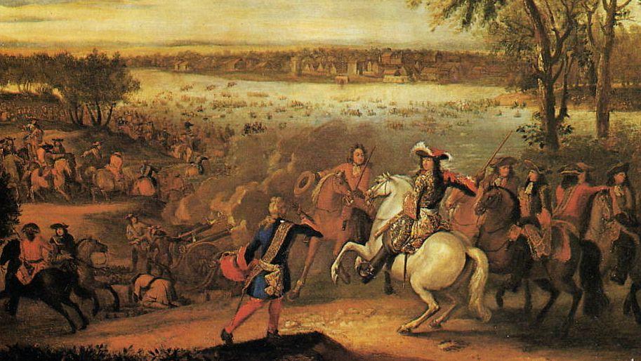 Ludwig XIV. im französisch-holländischen Krieg