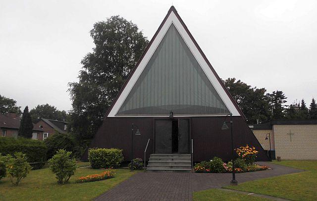 Evangelische Kirche am Dillenweg im Ortsteil Rhade
