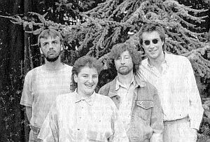 """Dorstener Musikzeiten: """"New Fragile"""" mit Rene Hänsel, Tanja Köhl, Ulrich Goralczyk und Martin Klapheck (v.l.); Foto: privat (DZ entn.)"""