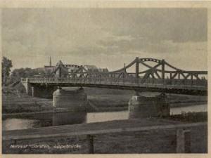 Lippebrücke Hervest-Dorsten (Postkarte)