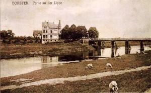 Lippebrücke um 1905