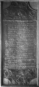 Tariftafel für die Brückenbenutzung 1791