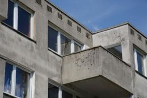 Bröckelnder Beton