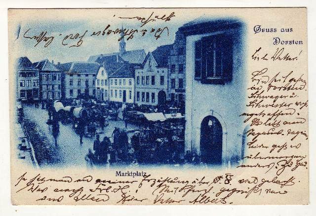 Marktplatz 1899