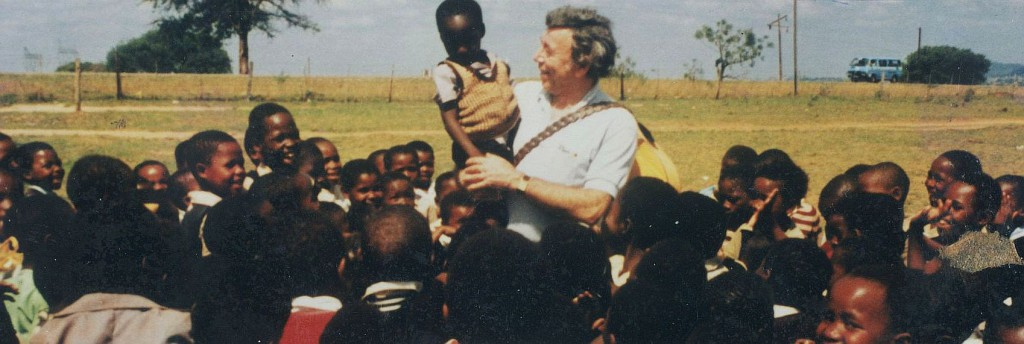 Fred Mauritz in Soweto (Afrika)