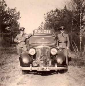 Polizisten auf Streife 1959: Schulte-Dickhoff und Klingebiel