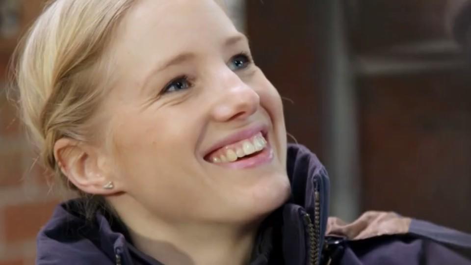 "Malin Pettersson als ""Ninja warrior""-Kämpferin 2016"