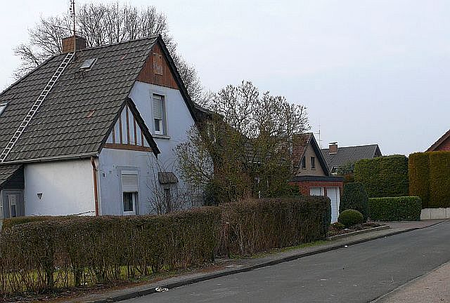 Doppelhaus Sieboldstraße 1/3 in Holsterhausen