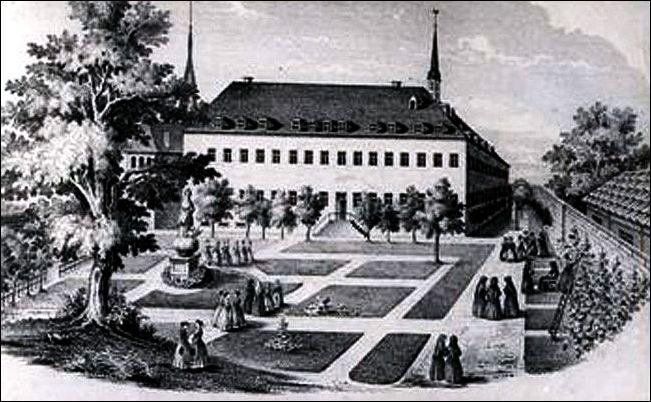 Ursulinenkloster, Stahlstich von .........
