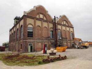 Maschinenhaus; Foto: Wolf Stegemann (2014)