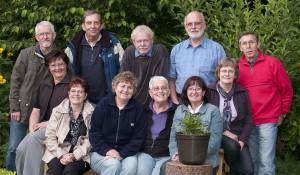 Foto-Team Dorsten mit Horst Weihrauch (2. Reihe Mitte)