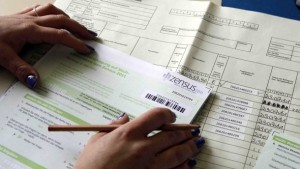 Zensus-Fragebogen zur Auswertung bei den Erhebungsstellen