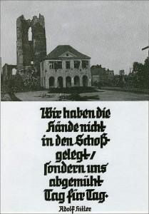 Zz-Zweiter Weltkrieg-Ende,Hitlerspruch