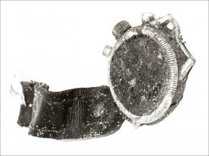 Uhr des in Dorsten 1989 ausgegrabenen Piloten