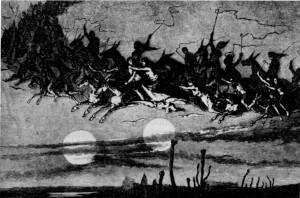 Der Geister wilde Jagd, 19. Jahrhundert
