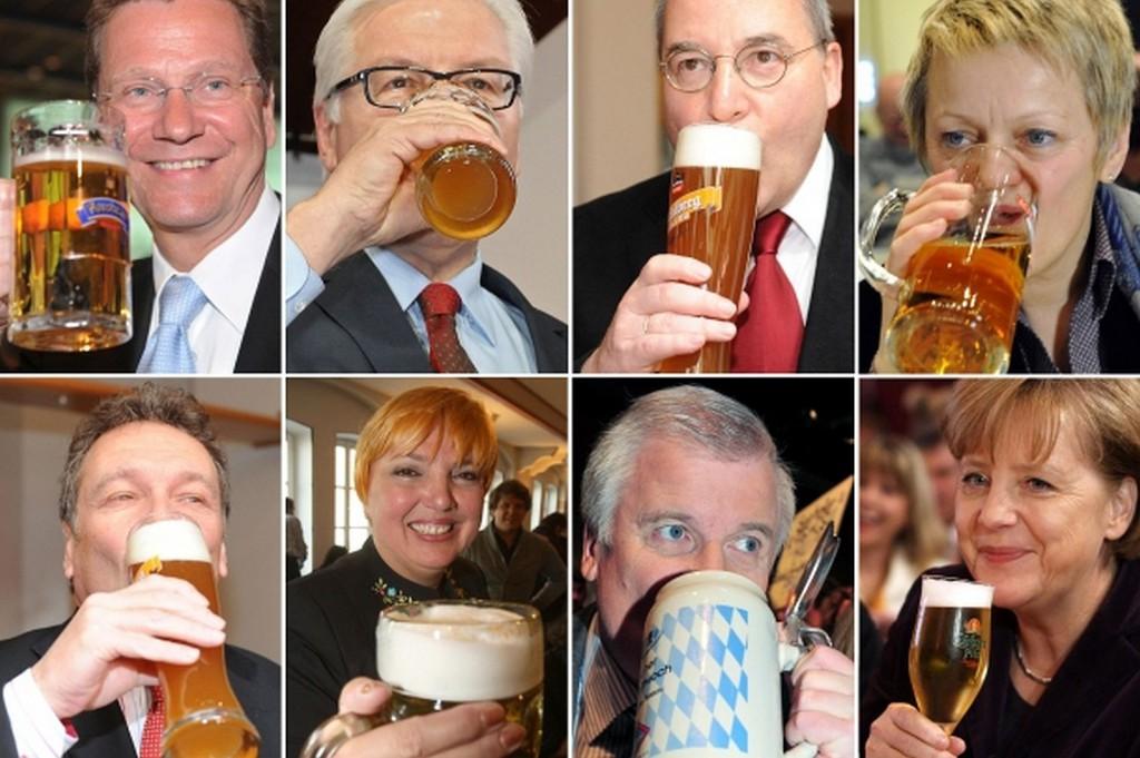 Alkoholsteuer zur Freude der Politiker; Fotozusammenstellung: dpa