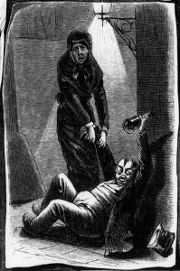 """""""Ihr zu Füßen"""", Zeichnung von Imlauer 1883"""