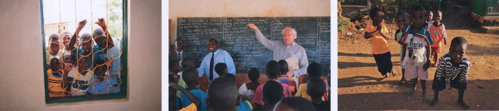 Impressionen aus Malawi mit Franz-Joseph Kuhn (Bildmitte)