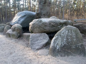 Teufelssteine bei Heiden
