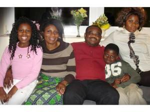 Familie Mfebe erhielt Kirchenasyl ; Foto privat