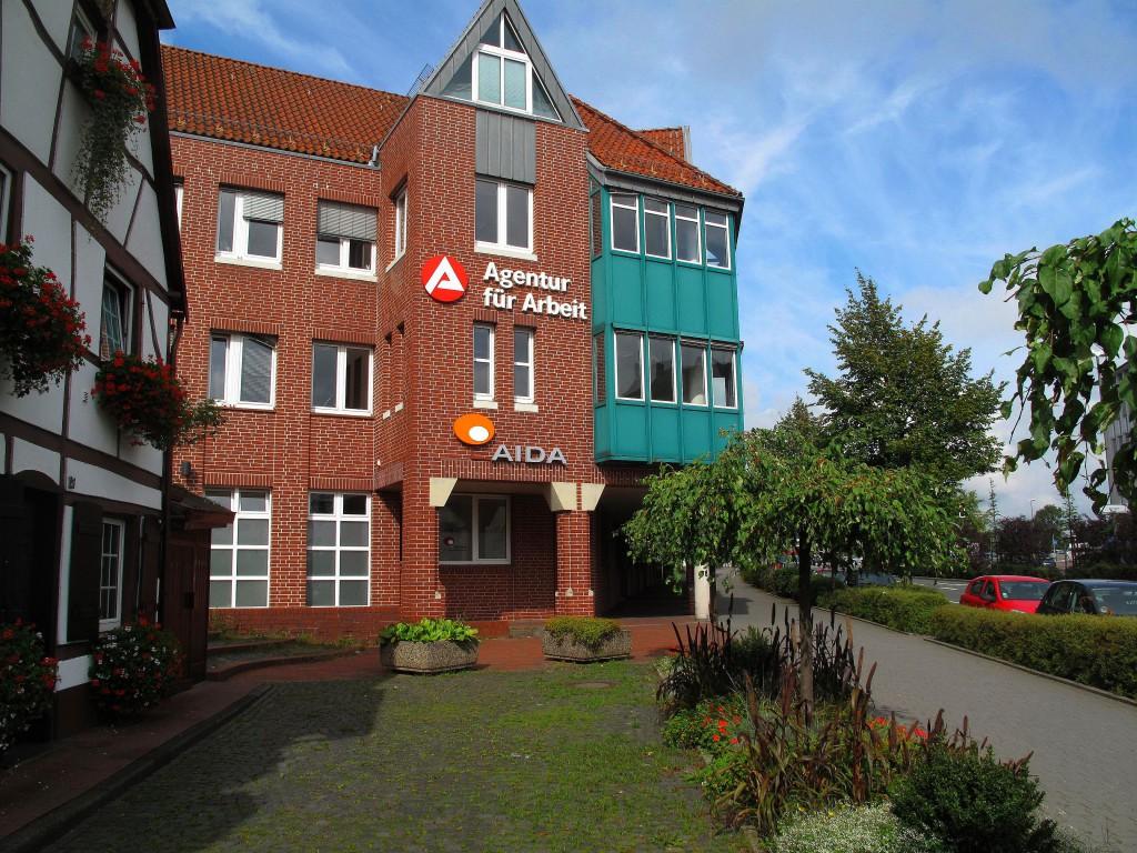 Agentur für Arbeit in Dorsten; Foto: Wolf Stegemann