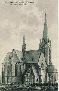 Antoniuskirche vor der Zerstörung durch Stürme
