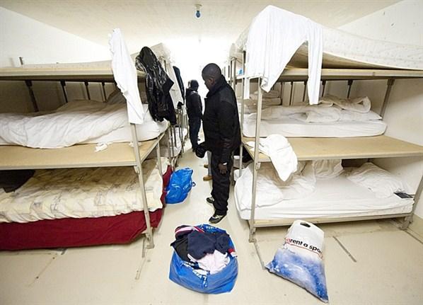 Asylbewerber-Unterkunft