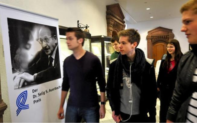 Auerbach-Ausstellung in Recklinghausen 2011