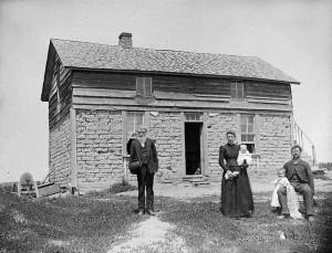Deutsche Auswanderer in den USA um 1890