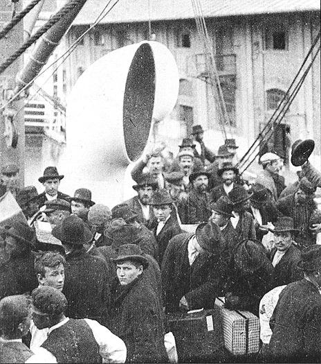 Auswanderungswelle Anfang 20. Jahrhundert