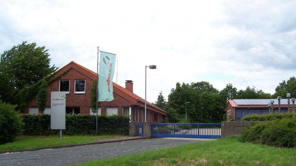 Autobahnmeisterei an der Königsberger Allee in Dorsten; Foto: Wolf Stegemann