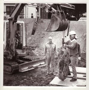 Bombenentschärfung am Südwall 1983