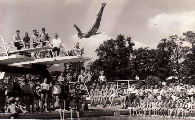 Freibad Holsterhausen in den 80er-Jahren