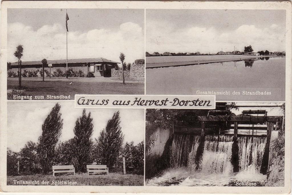Strandbad um 1938 (Postkarte)