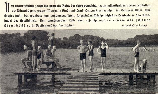 Strandbad in Hervest