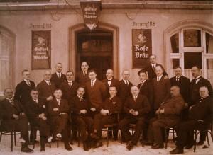 Beamtenverein Baldur, Gesangsabteilung 1927