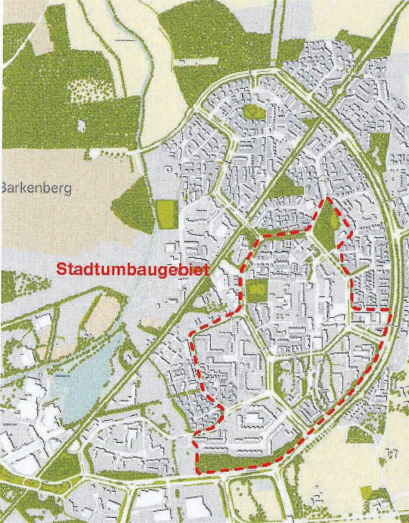 Stadtumbau West, Neue Stadt Wulfen, 2009