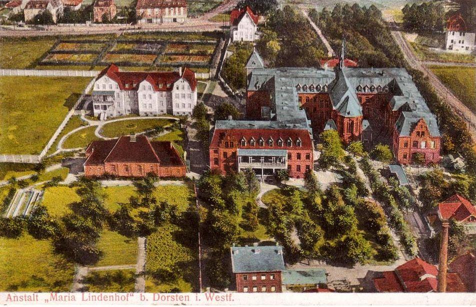 Anstalt Maria Lindenhof in Holsterhausen