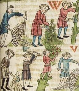 Bauernarbeit, 15. Jahrhundert